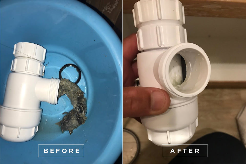 Yacht drain cleaning 3
