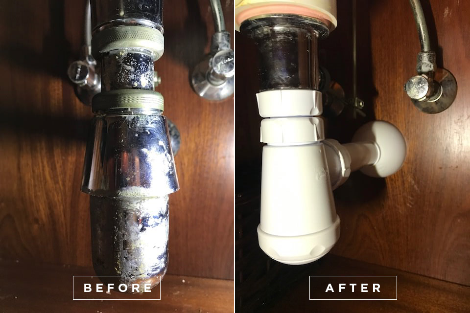 Yacht drain cleaning 6