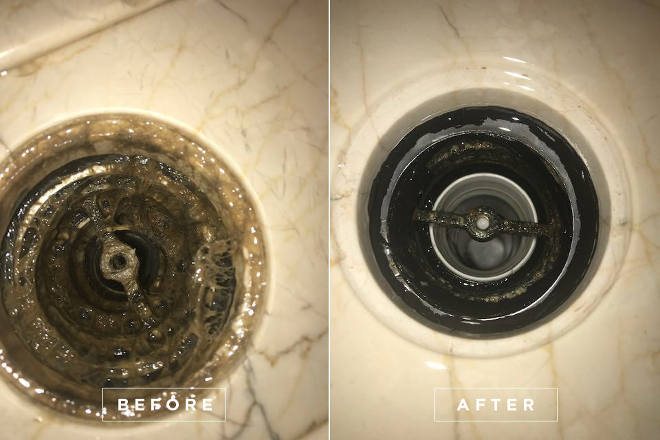 Yacht drain cleaning 8