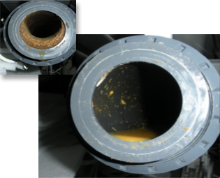 Drain blockage solutions for yachts