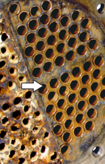 Heat Exchanger - Before and After RYDLYME treatment